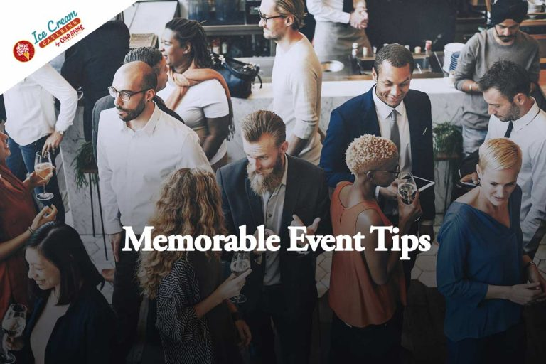 3 Tips To Make Your Party or Event Memorable